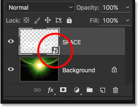 The Layers panel converted to a Smart Object. Image © 2016 Steve Patterson, Photoshop Essentials.com