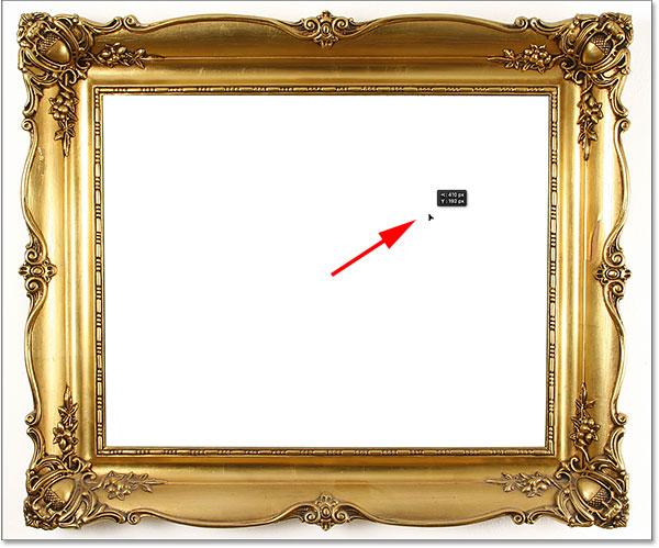 Photoshop's Move Tool. Image © 2016 Photoshop Essentials.com