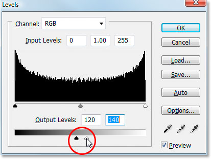Photoshop's Levels adjustment