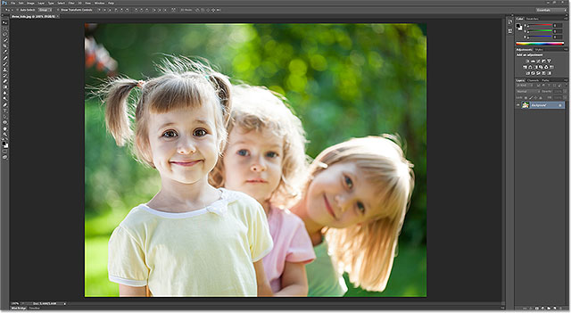 Photoshop is now the default image editor for JPEG files in Windows. Image © 2013 Photoshop Essentials.com