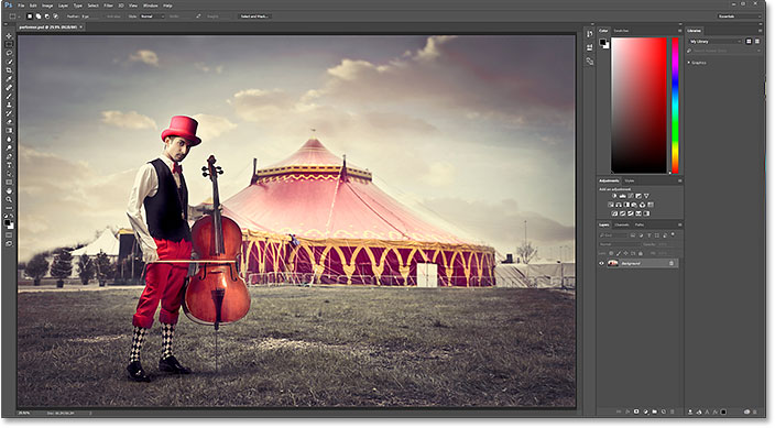 Photoshop should automatically be the default app for opening PSD files. Image © 2016 Photoshop Essentials.com