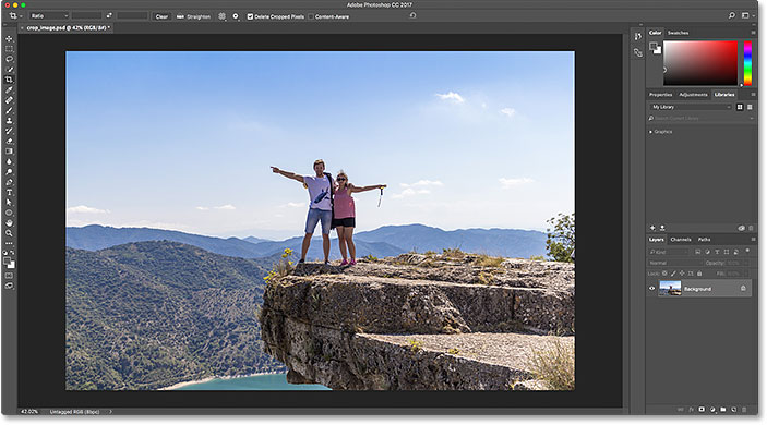 How to crop images in photoshop cc image 121283706 licensed from adobe stock by photoshop essentials ccuart Gallery