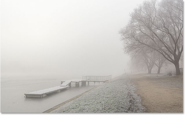 Winter mist. Image #75989072 licensed and used by permission from Fotolia by Photoshop Essentials.com