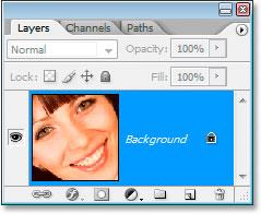 A paleta de Layers no Photoshop