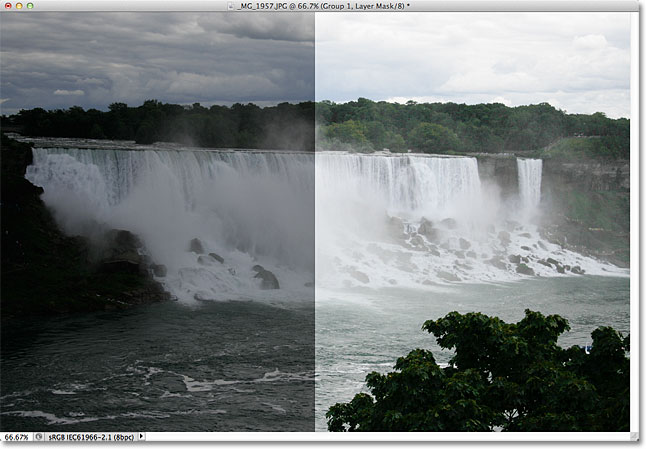 Brighten underexposed photos with the Screen blend mode in Photoshop. Image © 2011 Photoshop Essentials.com