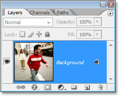 how to add blur effect to a layer photoshop