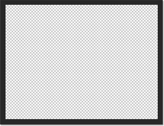A new blank Photoshop document.