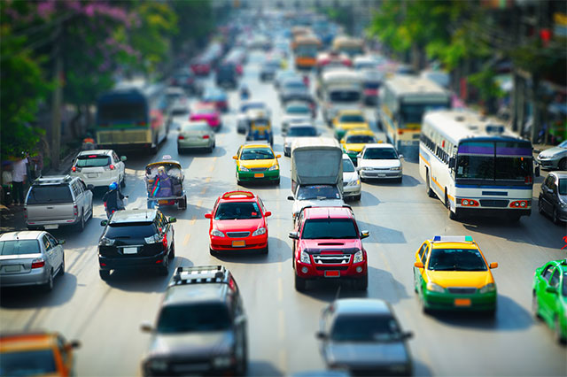 A Tilt-Shift blur effect created in Photoshop CS6. Image © 2012 Photoshop Essentials.com