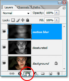 Click the Add Layer Mask icon