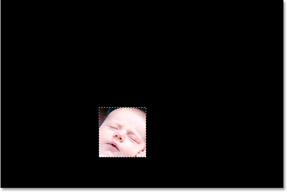 The image on Layer 1 is now clipped using the black-filled shape on the layer below it.
