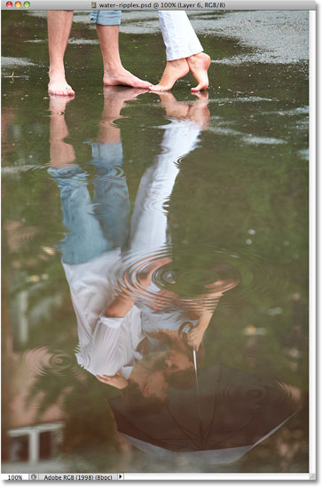 how to make water look milky in photo photoshop