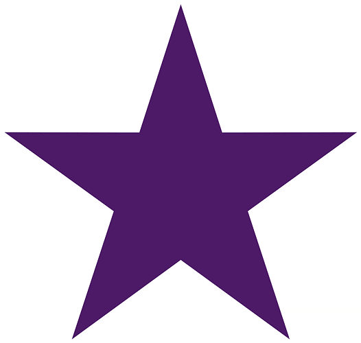 How to draw a perfect 5 point star in Photoshop