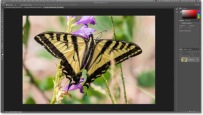 Photoshop Tabbed Documents And Floating Windows