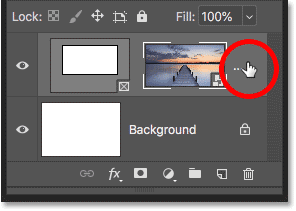 Right-clicking (Win) / Control-clicking (Mac) on the Frame layer in the Layers panel