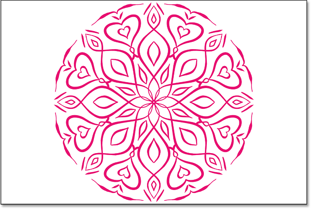 How to use the Mandala paint symmetry option in Photoshop CC 2019