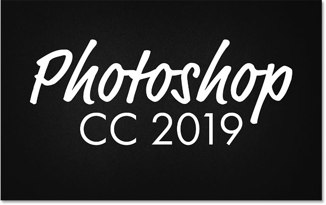 Editing the text after selecting it with the Move Tool in Photoshop CC 2019