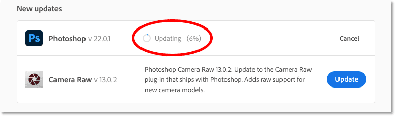 How to open Photoshop after updating to the latest version