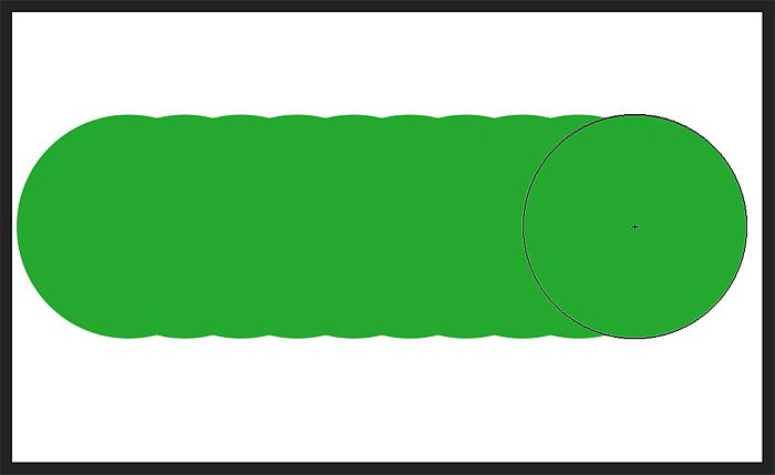 Photoshop's default brush strokes have bumpy edges