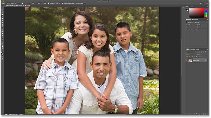 How to crop and resize images to match frame sizes in Photoshop