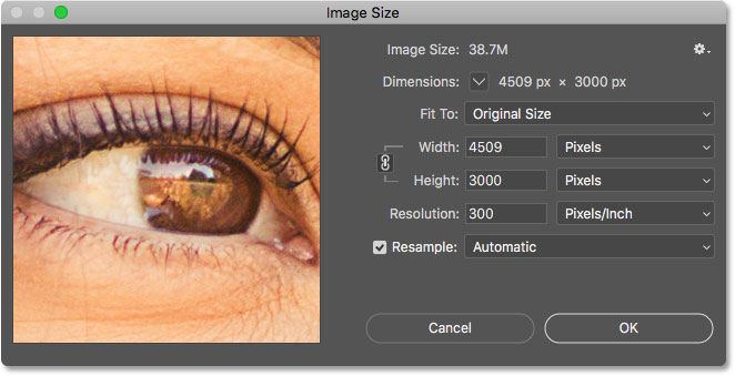 62f7038e Pixels, Image Size and Image Resolution in Photoshop