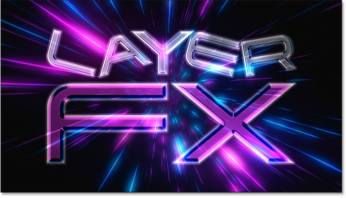 How to copy layer effects to another layer in Photoshop