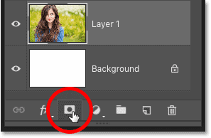 How to add a layer mask in Photoshop
