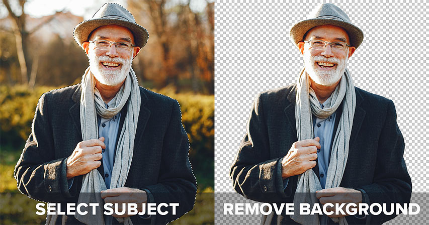 How to remove backgrounds in Photoshop with Select Subject vs Remove Background