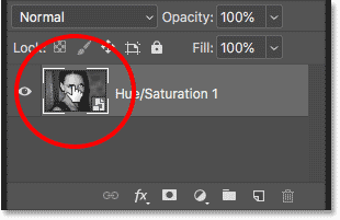 Double-clicking on the thumbnail to edit the smart object in Photoshop