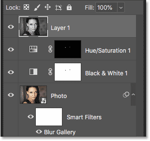 How to merge layers onto a new layer in Photoshop