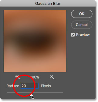 Editing the smart filter