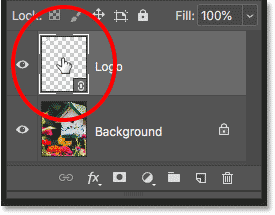 Opening the smart object by double-clicking on its thumbnail in the Layers panel