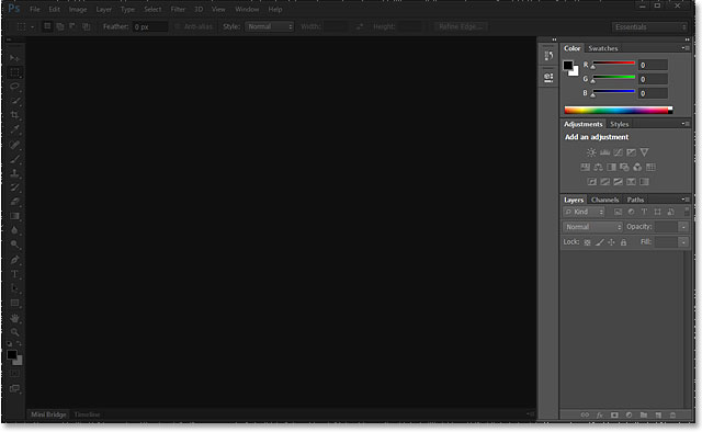 The panels in the Photoshop CS6 interface.