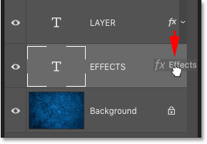 How to move layer effects in Photoshop