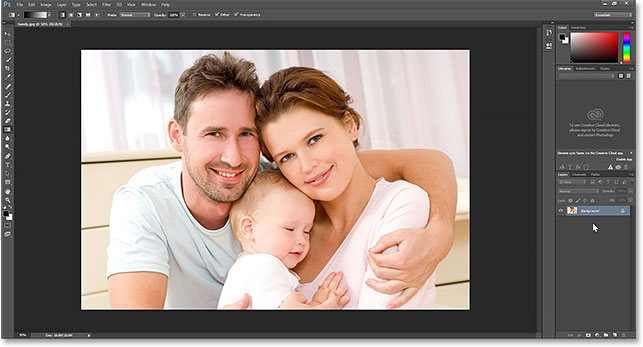 JPEG files now open by default in Adobe Photoshop. Image © 2014 Photoshop Essentials.com