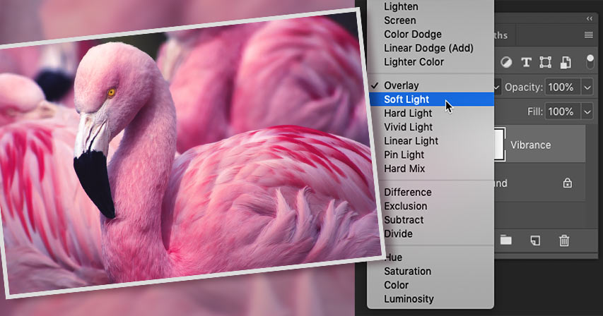 How to boost image contrast with Photoshop blend modes