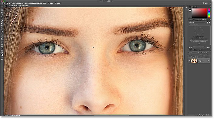 How To Change Eye Color In Photoshop - Step by Step