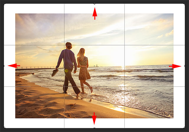 How to add more canvas space with the Crop Tool in Photoshop