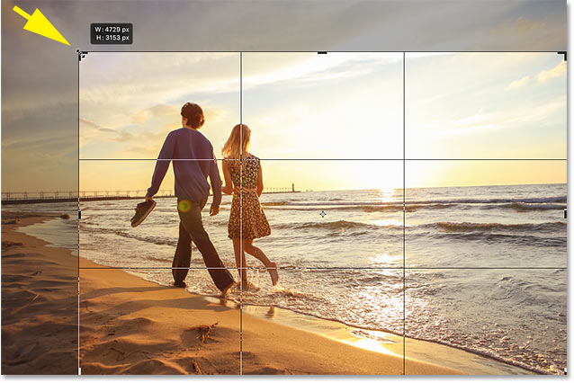 Photoshop Crop Tool tips: Locking the aspect ratio of the crop border