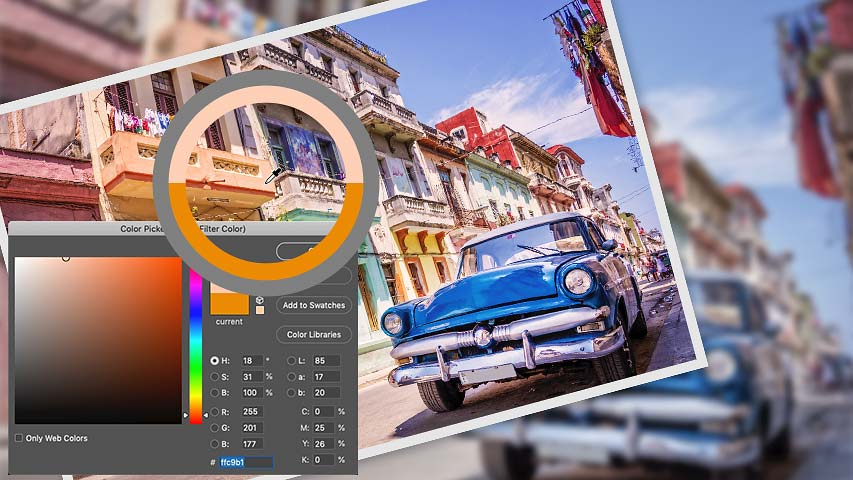 Photoshop Photo Filter tips - How to sample and enhance colors