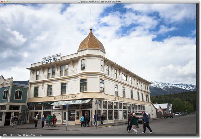 The Golden North Hotel in Alaska. Image © 2012 Steve Patterson