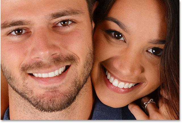 Photoshop Whiten and Brighten Teeth.