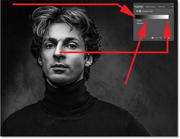 How Photoshop's Gradient Maps replace colors