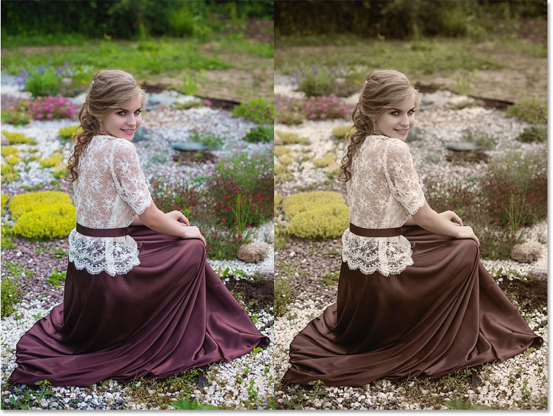 How to unify colors in an image with Photoshop