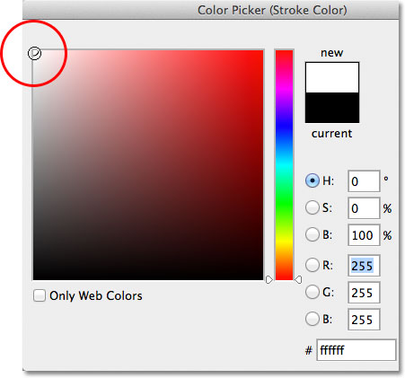 how to change the colour of something white in photoshop