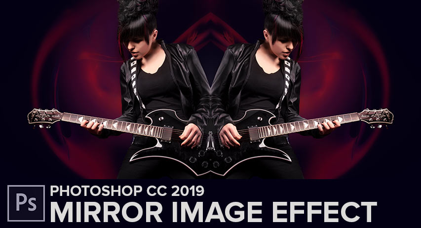 How to mirror and image in Photoshop tutorial