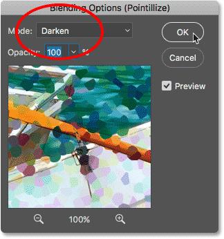 Photoshop Pointillism Painting Effect