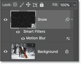 The filter mask has been deleted from the Layers panel