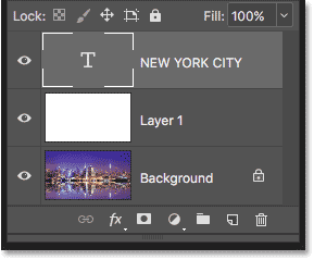 Photoshop Type layer