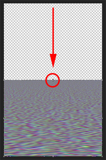 Scaling the displacement map to it will onlt affect the water reflection