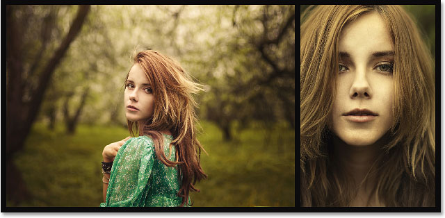 A two-image diptych created in Photoshop CS6.